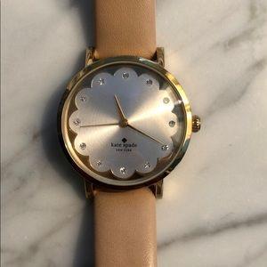 Kate Spade Metro Tan Watch